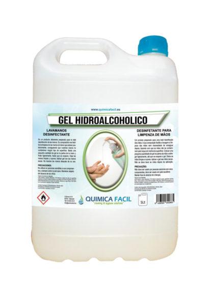 Gel hidroalcohólico LIMPIA FÁCIL 5L