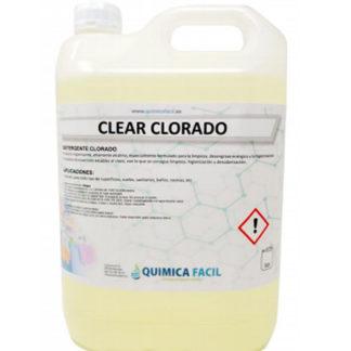 Clear clorado QUIMICA FACIL 5 Litros